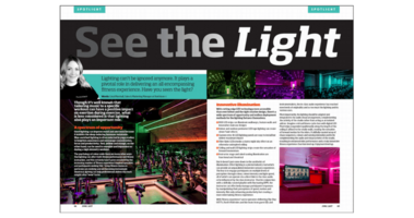 Image for Lighting can't be ignored anymore. It plays a pivotal role in delivering an all encompassing fitness experience.