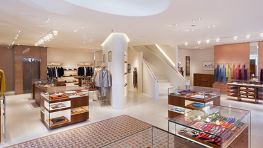 Image for French fashion house Hermès recently undertook an extensive renovation of their flagship store in the iconic Time Life building on New Bond Street, London.