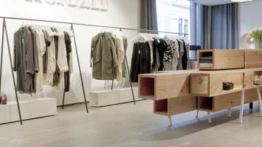 Image for As a sub brand of a fast-fashion international chain, the vision ofa gallery-like space housing high-end, high-quality clothing, couldn't be further from the high street.